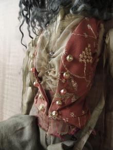 The Hatter's Waistcoat (detail)